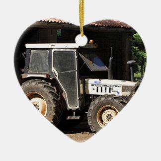 Adorno De Cerámica Tractor gris, EL Camino, España