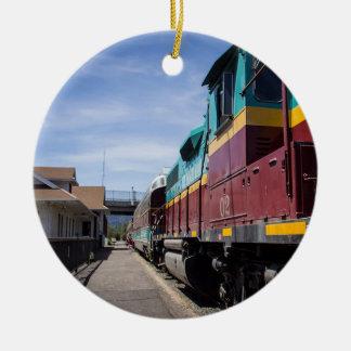 Adorno De Cerámica Tren del navidad