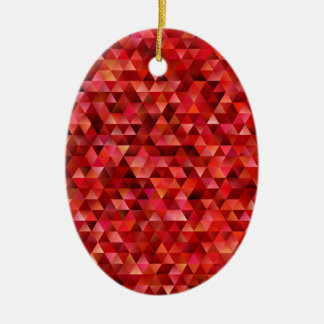 Adorno De Cerámica Triángulos sangrientos