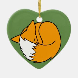 Adorno De Cerámica Un Fox