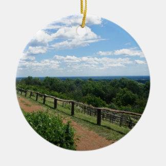 Adorno De Cerámica Una visión desde Monticello