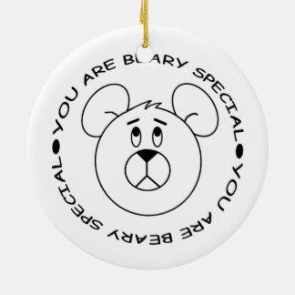Adorno De Cerámica Usted es imán especial del oso del dibujo animado