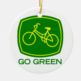 Adorno De Cerámica Va el verde