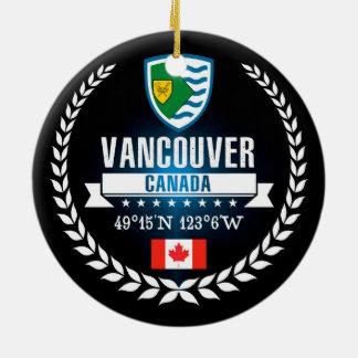 Adorno De Cerámica Vancouver