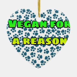 Adorno De Cerámica Vegano por una razón