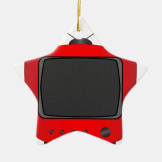 Adorno De Cerámica Vieja televisión