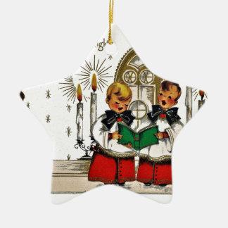 Adorno De Cerámica vintage-santa-christmas-post-cards-0029