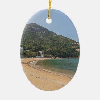 Adorno De Cerámica Vista panorámica de la isla pálida de Sok Kwu