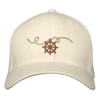 Adorno de la rueda 3 de los capitanes gorra de béisbol