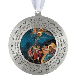 Adorno De Peltre Ornamento cristiano ortodoxo del navidad del