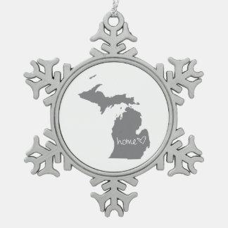 Adorno De Peltre Tipo Copo De Nieve <3 casero Michigan
