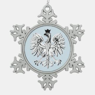 Adorno De Peltre Tipo Copo De Nieve Águila polaca