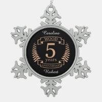 Aniversario de boda de madera 5 años