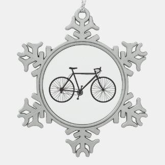 Adorno De Peltre Tipo Copo De Nieve Bici del camino, bicicleta, ornamento del copo de