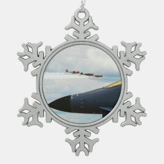 Adorno De Peltre Tipo Copo De Nieve Bombardero B-1 y combatientes de WWII