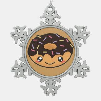 Adorno De Peltre Tipo Copo De Nieve Buñuelo divertido y fresco de Kawaii