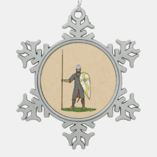 Adorno De Peltre Tipo Copo De Nieve Caballero normando, circa 1066
