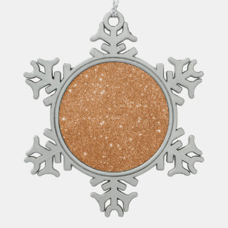 Adorno De Peltre Tipo Copo De Nieve Chispas anaranjadas quemadas del brillo