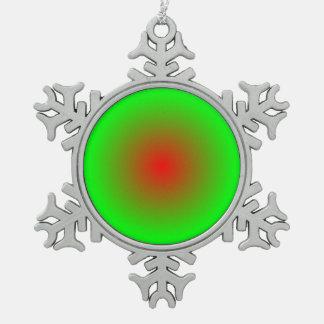 Adorno De Peltre Tipo Copo De Nieve Círculos concéntricos #22
