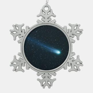 Adorno De Peltre Tipo Copo De Nieve Cometa en cielo nocturno