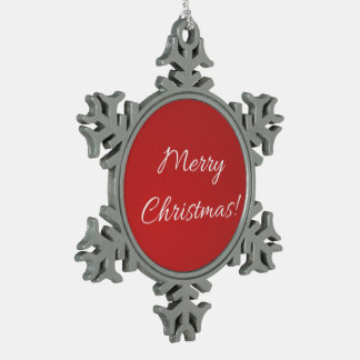 Adorno De Peltre Tipo Copo De Nieve Copo de nieve de las Felices Navidad