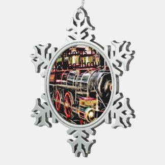 Adorno De Peltre Tipo Copo De Nieve Copo de nieve para los enthusiats del tren