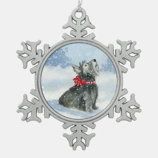 Adorno De Peltre Tipo Copo De Nieve ¡Dejáis le nevar! ¡- Celebración de Kadie!