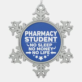Adorno De Peltre Tipo Copo De Nieve Estudiante de la farmacia ninguna vida o dinero