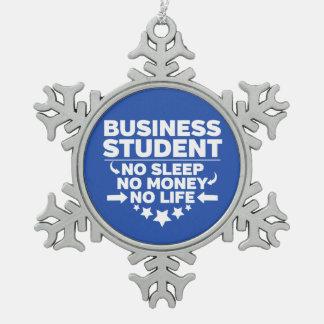 Adorno De Peltre Tipo Copo De Nieve Estudiante del negocio ninguna vida o dinero