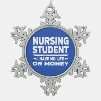 Adorno De Peltre Tipo Copo De Nieve Estudiante del oficio de enfermera ninguna vida o