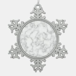 Adorno De Peltre Tipo Copo De Nieve Fondo veteado del modelo de la piedra del mármol