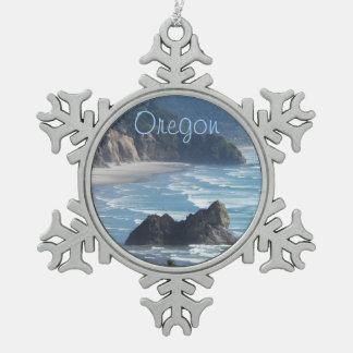 Adorno De Peltre Tipo Copo De Nieve Foto de la costa costa de Oregon