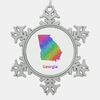 Adorno De Peltre Tipo Copo De Nieve Georgia