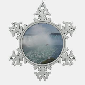 Adorno De Peltre Tipo Copo De Nieve La herradura cae en Niagara Falls