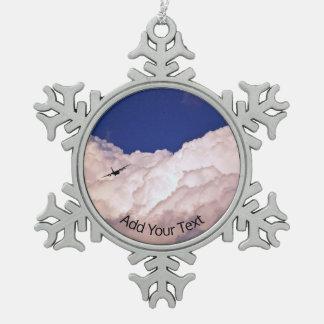 Adorno De Peltre Tipo Copo De Nieve Los militares transportan el aeroplano de Shirley