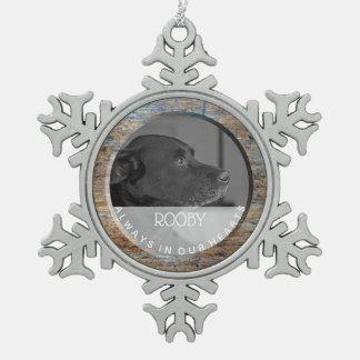 Adorno De Peltre Tipo Copo De Nieve Monumento el | del mascota en memoria de la