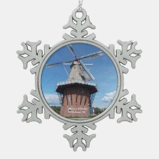 Adorno De Peltre Tipo Copo De Nieve Ornamento 1 del copo de nieve de Holanda, Michigan