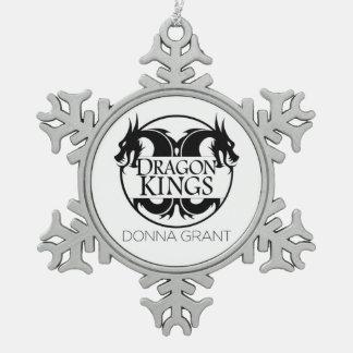 Adorno De Peltre Tipo Copo De Nieve Ornamento de los reyes del dragón