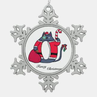 Adorno De Peltre Tipo Copo De Nieve Ornamento de lujo del navidad