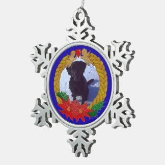 Adorno De Peltre Tipo Copo De Nieve Ornamento del copo de nieve de la guirnalda del