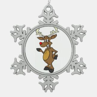 Adorno De Peltre Tipo Copo De Nieve Ornamento del copo de nieve del estaño