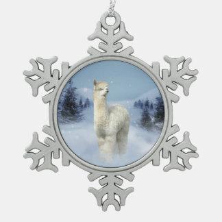 Adorno De Peltre Tipo Copo De Nieve Ornamento del copo de nieve del estaño de la