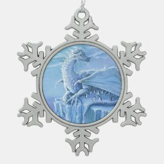 Adorno De Peltre Tipo Copo De Nieve Ornamento del estaño del protector del pingüino