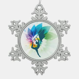 Adorno De Peltre Tipo Copo De Nieve Ornamento del navidad del guardia de honor