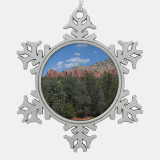 Adorno De Peltre Tipo Copo De Nieve Panorama de rocas rojas en Sedona Arizona