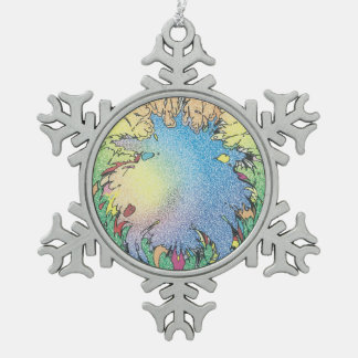 Adorno De Peltre Tipo Copo De Nieve Unverse colorido de Charlie