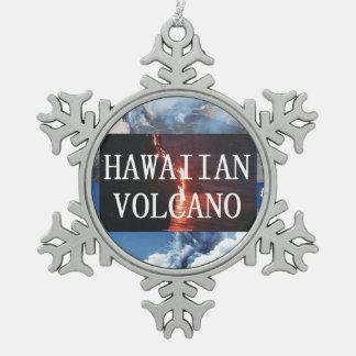 Adorno De Peltre Tipo Copo De Nieve Volcanes de ABH Hawaii