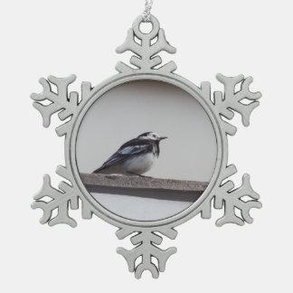 Adorno De Peltre Tipo Copo De Nieve Wagtail de varios colores