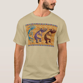 Adorno del nativo americano de Kokopelli 3D Camiseta