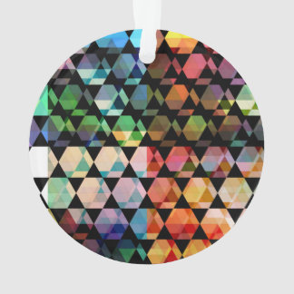 Adorno Diseño gráfico del hexágono abstracto